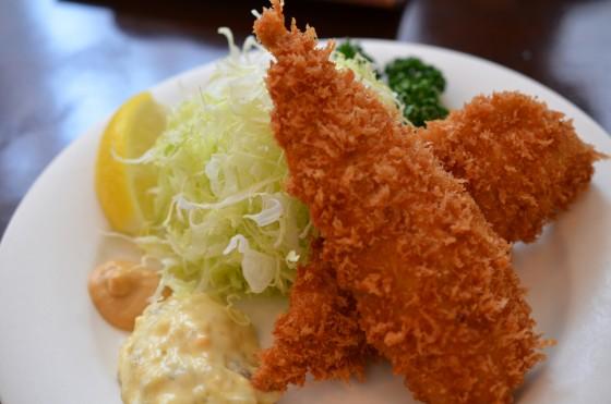 麻布十番 EDOYA — 1954年創業の老舗洋食屋さんのアジフライとチキンカツが絶品だった!!