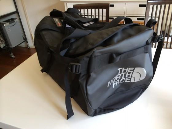 The North Face 2wayボストンバッグ Base Camp Duffel M 購入!デカいけど便利でカッコいい!!