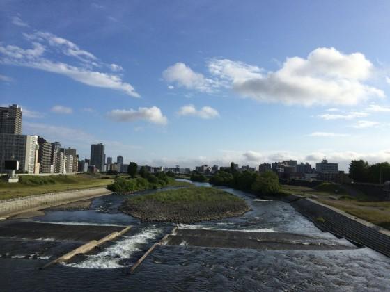 爽快!札幌 中島公園~豊平川沿い 7km ラン! [2014年6月 札幌・小樽旅行記 その9]
