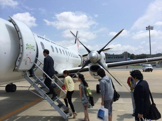 いざ高知へ!福岡〜高知 日本エアコミューター便 はプロペラ機で楽しかった!! [2014福岡・高知旅行記 その16]