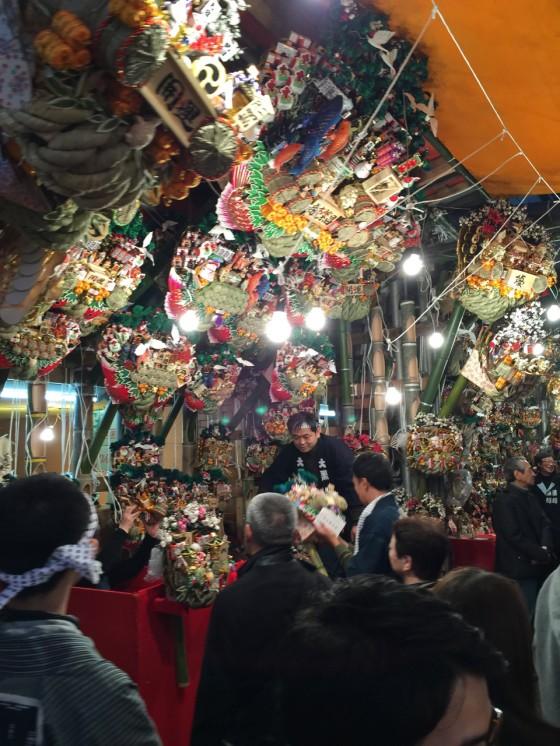 浅草 千束 鷲神社の酉の市 二の酉を訪問!縁起物の熊手を購入してきた!!