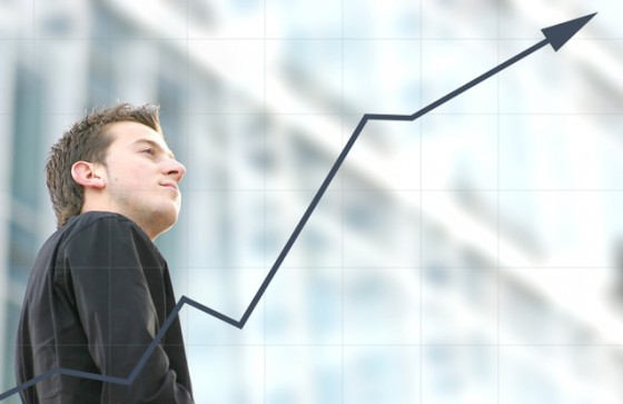 business man success - aris graph
