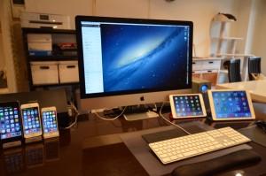 ORICO USB3.0 10ポートスイッチ付き ハブ — 自宅でiPhoneとiPadをケーブル接続しっぱなしで使いたくて購入したが