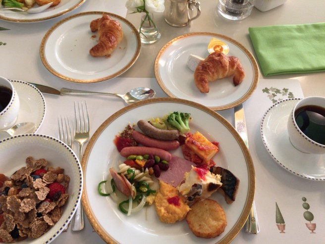 【閉館】ホテルオークラ テラスレストラン 8月閉館を惜しみつつ ブッフェ朝食を楽しむ♪