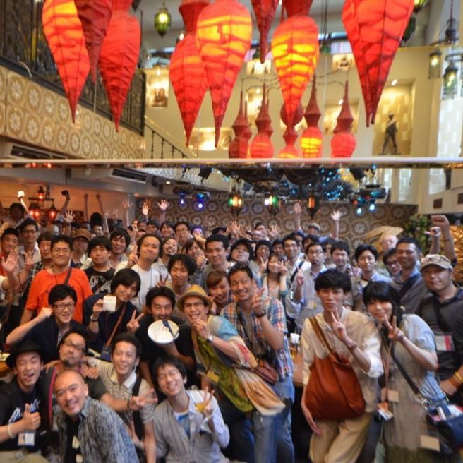6/7(日)に大阪で 「iPhoneL♡VE部」と共催でオフ会やります!まぐにぃオススメのお店で飲んで語ろう!! #loved_iphone
