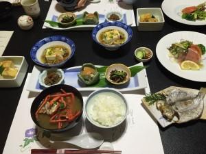 桐のかほり 咲楽(さくら) — 伊豆 今井浜温泉 隠れ家旅館は朝食もとっても豪華だった!!