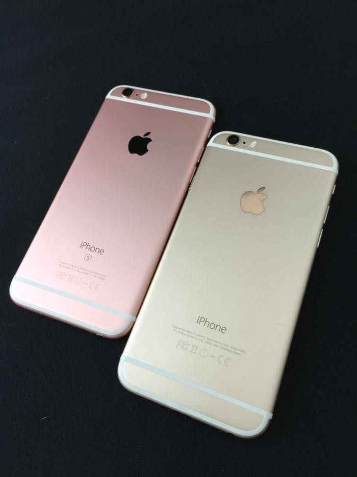 iPhone 6s ローズゴールド 128GB レビュー 外観編! 写真23枚! 美しすぎるフォルムとカラーをiPhone 6、6 Plusと徹底比較!!堪能あれ!!