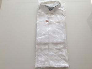 礼服と一緒に買った超デブ期のドレスシャツを断捨離  [1日1捨 No.16]
