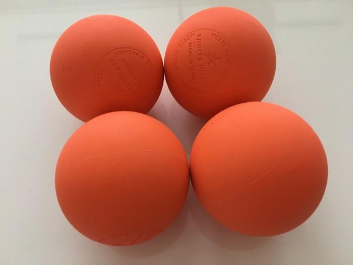 足底筋膜炎を防ぐ! 足裏の筋膜リリース用に ラクロスのボールを購入!これめっちゃ気持ちいい!!