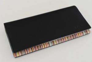 ポール・スミス インサイドマルチ 長財布 — Paul Smith を象徴するストライプが内側全面に入ったお財布を購入♪