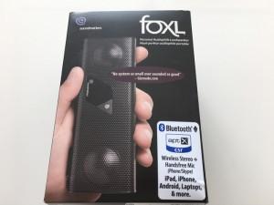 今日も外箱シリーズ foxLのBluetoothスピーカーの外箱を断捨離 [1日1捨 No.62]