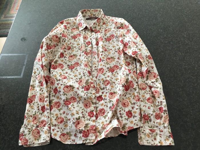 サイズが合わず着なくなった古いシャツを処分  [1日1捨 No.73]