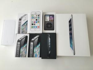 歴代のiPhone iPad iPod を下取りに出しました!今まで本当にありがとう!!
