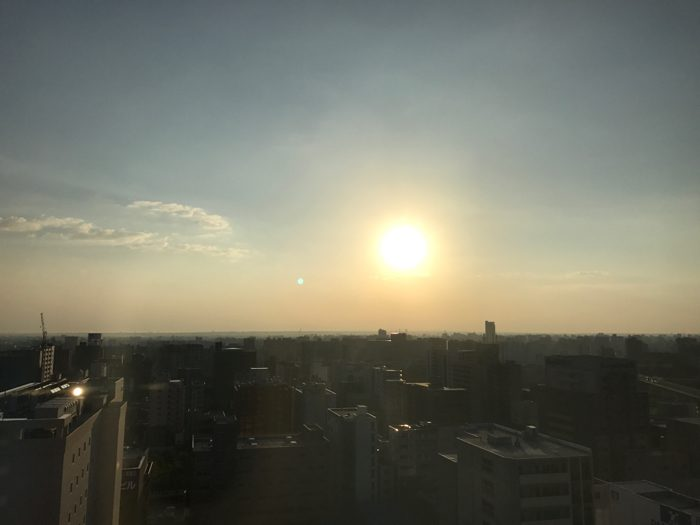 ちょっと休憩 札幌早朝1kmショートラン!!   [2016年9月 北海道旅行記 その6]