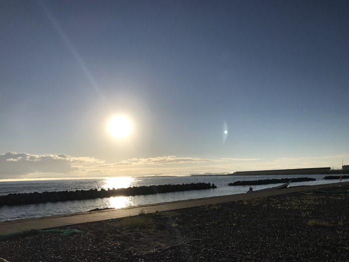 稚内快晴早朝10kmラン!!ノシャップ岬先端までひたすら原野を走るのは最高の体験だった!! [2016年9月 北海道旅行記 その12]