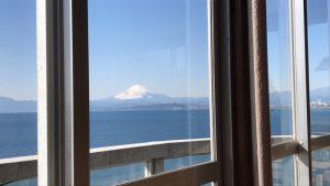 冨士見亭 〜 江の島 頂上から太平洋を臨む 絶景海鮮料理屋さん!!快晴の海と空と富士山にアジのタタキも最高だった!! [湘南グルメ]