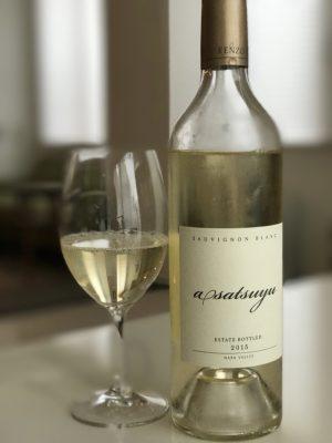 Asatsuyu(あさつゆ)Sauvignon Blanc Napa Valley 2015 〜 KENZO ESTATEの超本格派ソービニョンブランが激しく美味い!! [Wine]