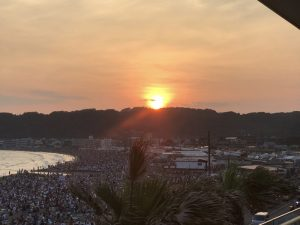 鎌倉引き篭もり3連荘! 夜は花火大会が素晴らしかった一日!! [ノマドワーカーの自由すぎる日常]