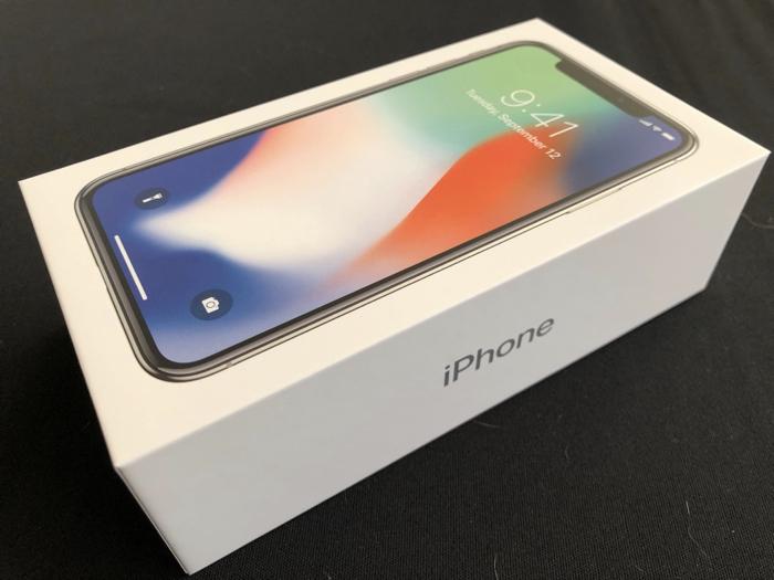 iPhone X シルバー 256GB SIMフリー機 開封の儀! ホームボタンすらない異次元 iPhone は画面のクリアさが際立つ!! [iPhone]