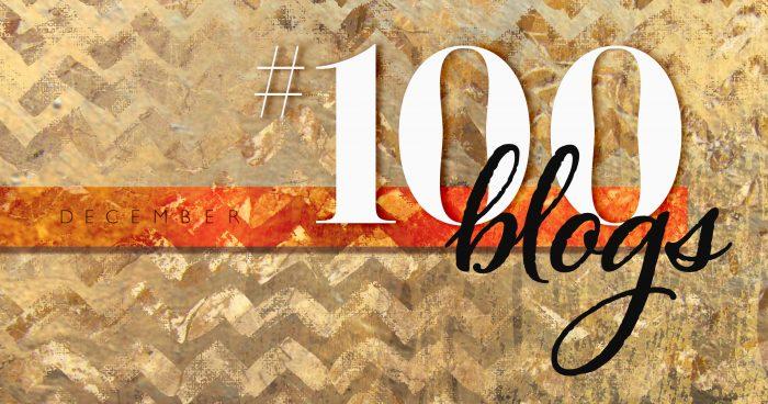 「100ブログチャレンジ」 #100blogs の超カッコいいロゴをとってぃが今回も作ってくれた!ありがとう!!