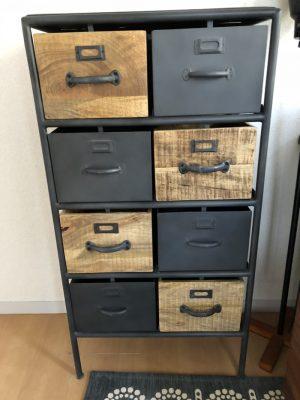 ライフファニチャーの アイアンチェスト インダストリアル家具を鎌倉の書斎用に購入!! [デュアルライフ]