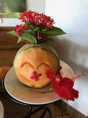 パラオ最終日の朝食もPPRのココナッツテラスで!名残惜しいが最後まで楽しもう!! [2017年パラオ旅行記 その38]