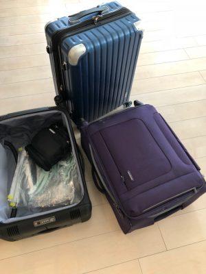 スーツケース3個の旅は準備がややこしかったり 看板のない寿司屋はやっぱり迷って辿り着けなかった一日 [自由すぎるスラッシャーの日常]